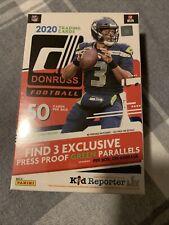 X4 2020 Panini Donruss Football Hanger Box. 50 Cards