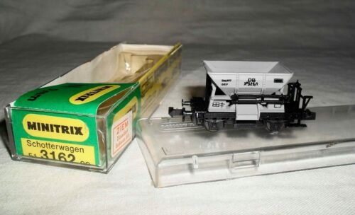 Minitrix N 51 3162 00 du Ballast voiture dans neuf dans sa boîte//bon état