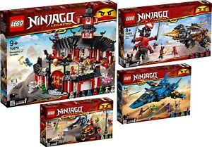 Lego Ninjago 70670 70669 70668 70667 Monastère du maître Spinjitzu Wu N1 / 19