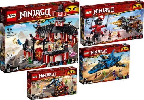 Lego Ninjago 70670 70669 70668 70667 Monastère du Spinjitzu Maître Wu n1/19