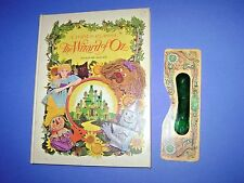 Old Pop Up Classic THE WIZARD OF OZ Random House Vintage Book HB & Green Glasses