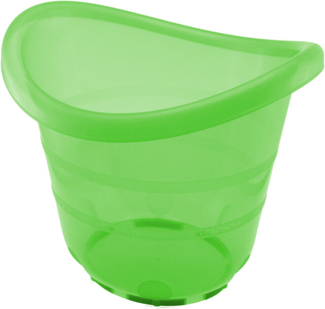 Badeeimer Babybadeeimer Babyeimer Badewanne Bieco grün Babybad Baden Eimer