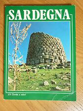 SARDEGNA guida turistica illustrata 275 tavole a colori R. Balzano Olbia 1982