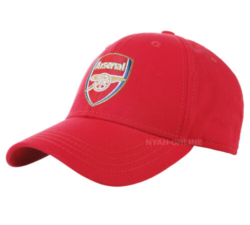 OFFICIAL CHELSEA FC ARSENAL WEST HAM BASEBALL CAP PLAIN FITTED PEAK HAT