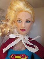 13 Supergirl Tonner Dressed Doll Dc Stars Blonde Can Wear Revlon Outfits
