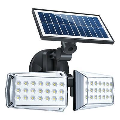 2X Solarleuchte mit Bewegungsmelder 30LED Solarstrahler Außenleuchte Gartenlampe