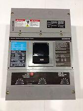 JXD63B300L Siemens Circuit Breaker 3 Pole 300 Amp 600V NEW IN BOX