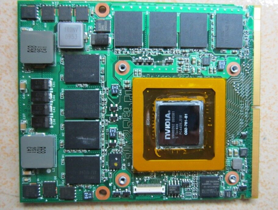 For Dell Alienware M17x 1GB Nvidia 280M X203R Video Card Free Shipping