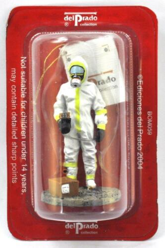 "SOLDATINO POMPIERI FIREMAN /"" Firefighter Ray Unit French 2003 /"" DEL PRADO BOM059"