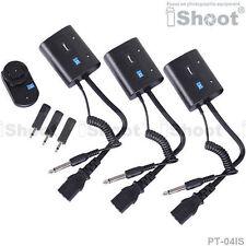 iShoot 30m Wireless Radio Flash Trigger PT-04 for Studio Flash Light/Strobe/-3R