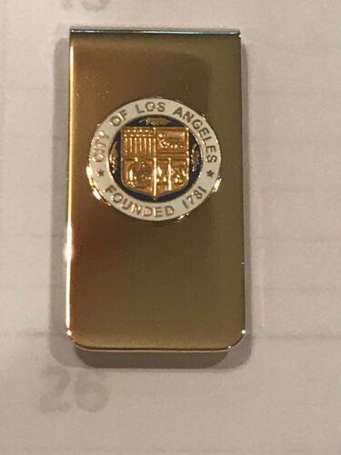 GOVT City Seal Brass Money Clip LAFD City of Los Angeles L.A - LAPD