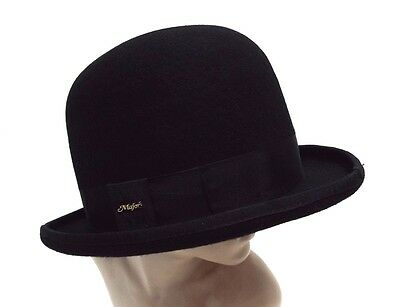 Campbell Cooper Brand New Funeral Event Ascot Riding Black Bowler Hat Tall