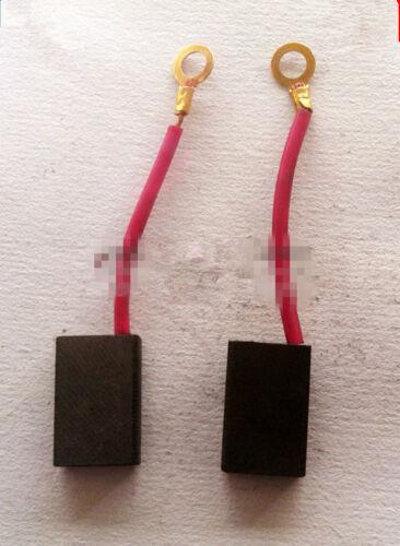 "10 Pcs Electric Tool Spare Part 18x12x5mm Motor Carbon Brush 0.7/""x0.47/""x0.2/"""