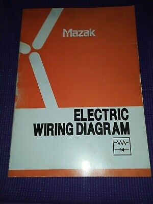 Mazak Electric Wiring Diagram Quick Turn Nexus 100M/MS 200/250M/MS/MY/MSY    eBayeBay