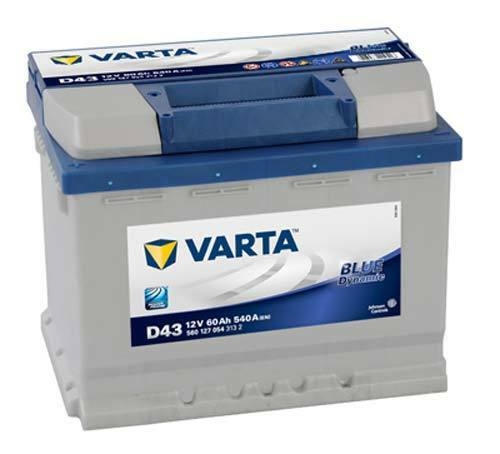 VARTA Starterbatterie 60Ah BLUE dynamic 5601270543132 zzgl. 7,50€ Batteriepfand