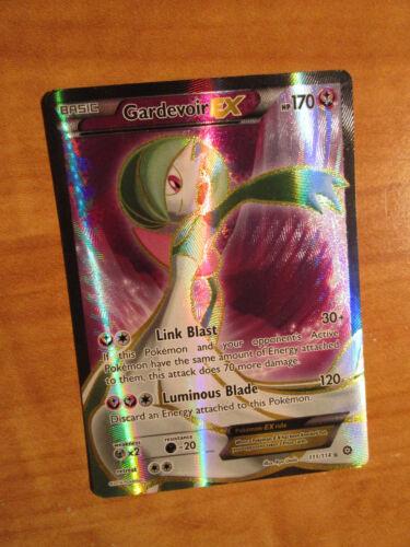 NM FULL ART Pokemon GARDEVOIR EX Card STEAM SIEGE Set 111//114 XY X Y Ultra Rare