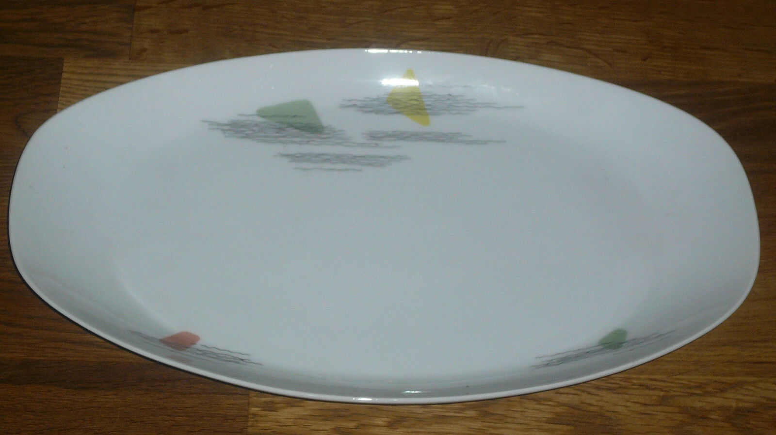 1 Platte Platte Platte  35,5 cm   21,5 cm   Arzberg Form 2025  Löffelhardt   OHNE  Goldrand | Großer Verkauf  b29fdb