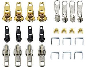 Extractor De Cremallera Sujetador de Reemplazo de Cable tiradores de cremallera chaqueta Deslizante Mochila Reino Unido Nuevo