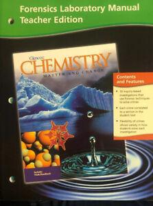 laboratory manual teacher edition glencoe chemistry matter and change