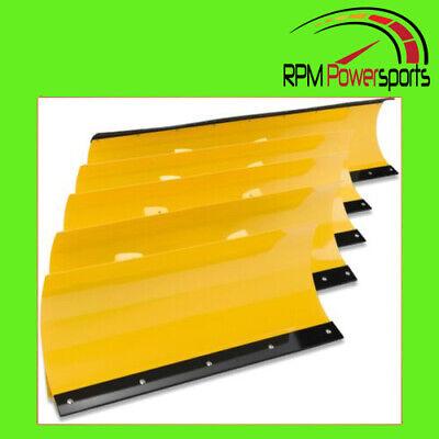 "MOOSE Utility Division UTV//ATV 55/"" Yellow Standard Plow Blade 4501-0753"