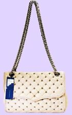 REBECCA MINKOFF AFFAIR Diamond Studs Quilted Leather Cross-Body Bag Msrp $395.00