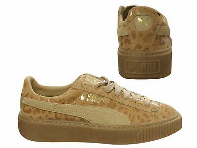 puma basket leopard