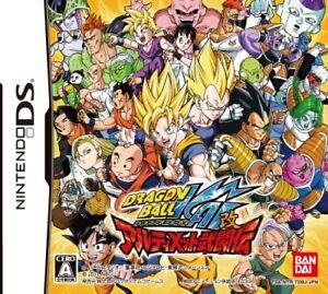 USED-Nintendo-DS-Dragon-Ball-Kai-Ultimate-Butouden-game-soft-Japan-impor