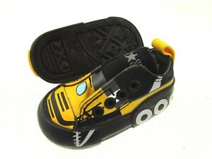 787c88f910e Image is loading Converse-All-Star-Canvas-Toddler-Yellow-Black-Sneakers-
