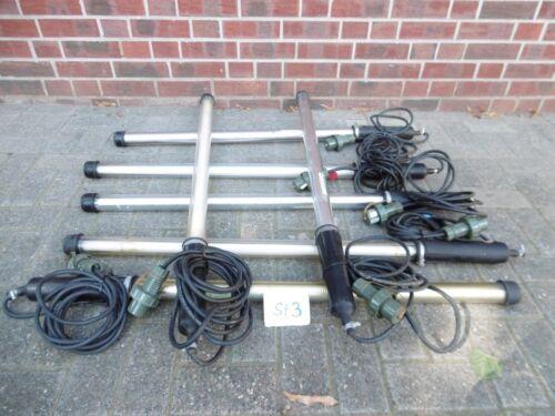 1x Stablampe, Lampe, KFZ Leuchte, Neon Arbeitslampe 220V ex Bundeswehr(St3)