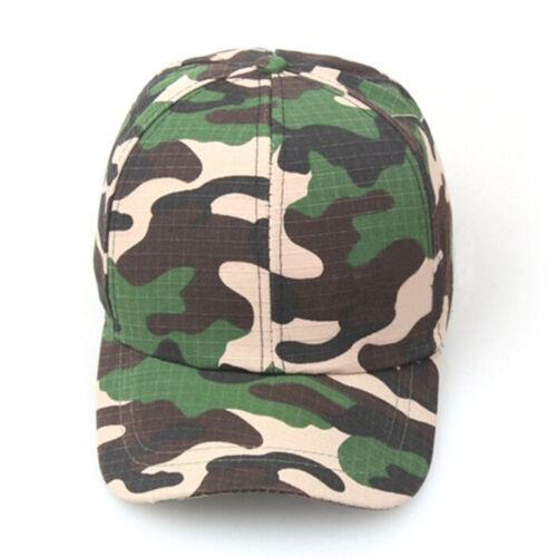 Männer Frauen Baseball Cap Militär Armee Camo Hut Trucker Camouflage SnapbackAB