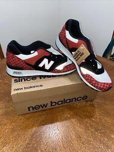RARE New Balance Mens 577 M577HJK Made in UK Black/Red Harajuku ...