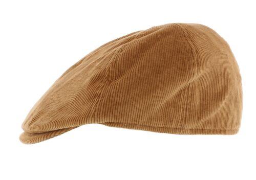 Failsworth 10/% Cotton Cord Duckbill Peak Cap Black//Navy//Fawn