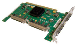 Sun-LSi22320-SR-2-U320-SCSI-PCIx-HBA-Adapter-375-3191-3753191-Dual-Channel-Card