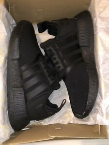 Details about Adidas NMD R1 J Triple Black/Core Black Shoes Youth 3.5 /Women 5 FW0397 New