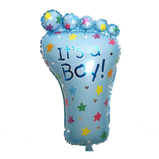 Its a Boy Lovely Feet Ballon Baby Shower Foot Foil Balloons Set Decoration