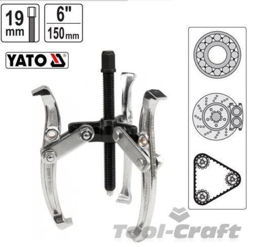diamètre min 80 max 300mm YT-2513 Yato professionnelle arbre bras mâchoire extracteur 150 mm