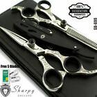 Sharpy England 6.5'' Barber and Thinning Scissors Set (SB-699)