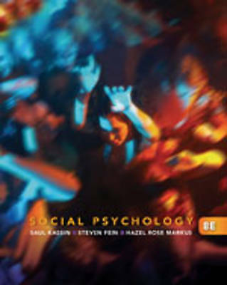 1 of 1 - NEW Social Psychology, 8th Edition by Saul Kassin