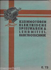 Puppenstube Eisenbahn Dampfmaschine Mawo E37 Katalog 1937 Modernes Design Verlegen Maienthau & Wolff Gehemmt Selbstbewusst Befangen Unsicher