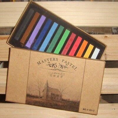 12 Color Soft Chalk Pastel For BJD SD DOD Dollfie Make Up Face Up Tool Accessory