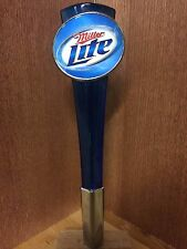 Miller Lite Beer Tap Handle with Retro Oval Logo