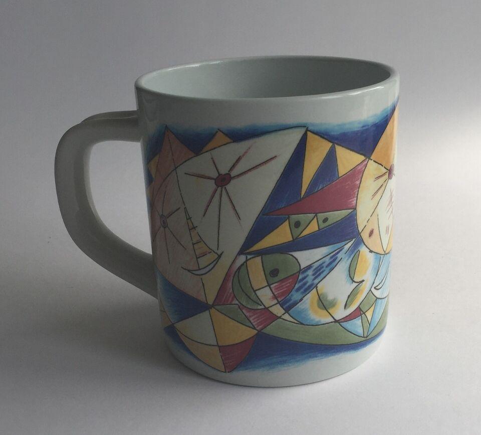 Porcelæn, 1990 Royal Copenhagen stort årskrus, Royal