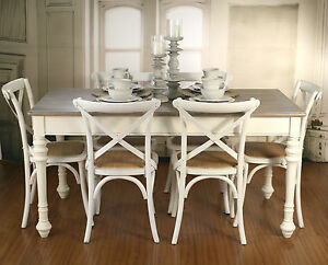 Image Is Loading Setting 7 Piece French Provincial Dining Table Amp