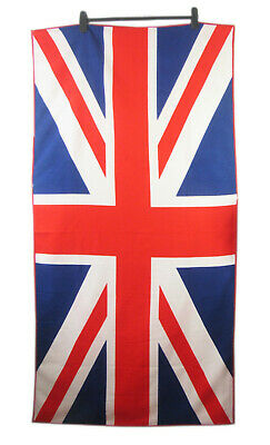 Union Jack Flag Soft Beach Towel Large Single Side