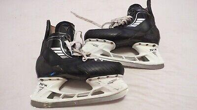 Used Hockey Skates >> Aaron Ekblad Used Vh True Pro Stock Ice Hockey Skates Size 10 D A Panthers Ebay