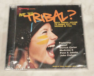 Mixmag-Presents-Are-You-Tribal-Compilation-Sealed