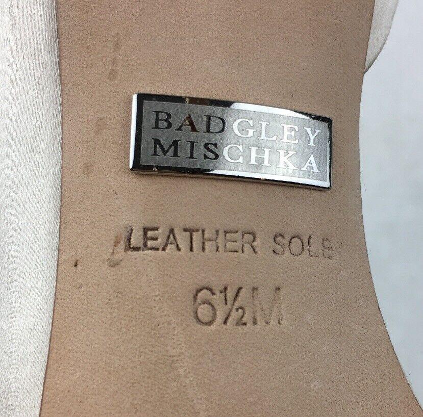 Badgley Mischka Pearson D'Orsay Pumps Women's Size 6.5M, 6.5M, 6.5M, Vanilla Satin 1270 850d39