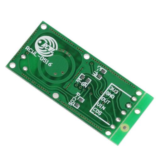 RCWL-0516 Microwave Radar Sensor Human Induction Detector Switch Module 5-7M