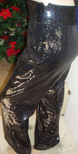 S Leg Cache 0 Alle Sequin Bedøvelse 189 Black Nwot Pants Msrp Dress Wide qawRqT