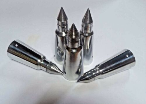 SHOOTING HIKING STICKS. 24mm ALPINE SPIKE FERRULE for WALKING